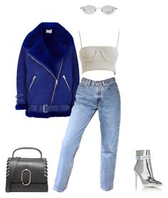 """""""Untitled #1068"""" by galaxyboms ❤ liked on Polyvore featuring Acne Studios, Off-White, 3.1 Phillip Lim and Chanel"""