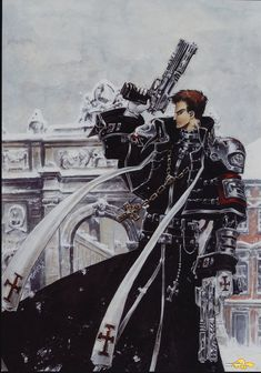 Trinity Blood - Fabrica Theologiae - Tres Iques