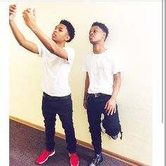 I Don't Know Who They Are But They Cute And Got Swagg .
