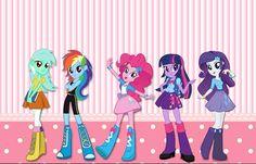 Con estos fabulosos modelos imprimibles de My Little Pony se podrá realizar la ambientación de una fiesta de cumpleaños, una reunión con amigas, personalizar etiquetas y útiles escolares, darle est…