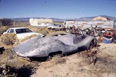 1948 Buick Streamliner as found in 2002