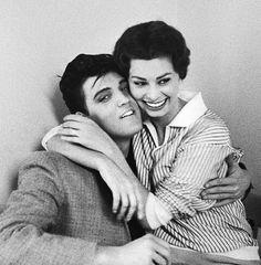 Elvis Presley and Sophia Loren, 1962