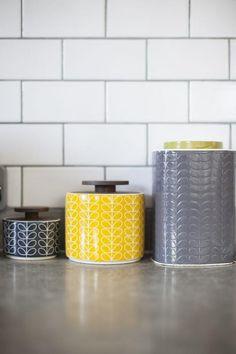 Yellow And Grey Kitchen Decor