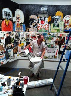 Eddie MartinezFascinating workspace full of fascinating work!!!