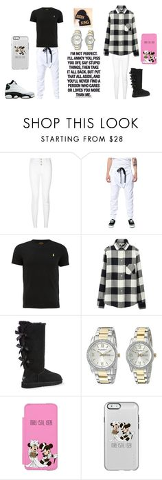 """""""Relationship Goals"""" by annaleigh1213 ❤ liked on Polyvore featuring Uniqlo, UGG Australia, Retrò, Akribos XXIV, Disney, women's clothing, women, female, woman and misses"""