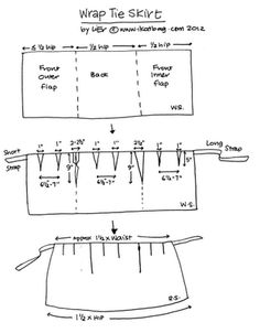 Simple Simon & Company: Skirting the Issue: wrap skirt tutorial