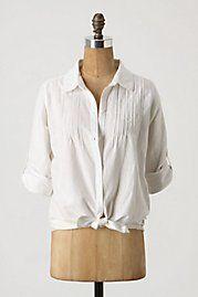 Tied & Tabbed Blouse, $88.00