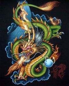 Dragons are one of many legendary creatures. Legendary creatures that breathe fireplace and fly – this higher describes dragons. Dragon tattoo has totally different meanings in accordance with the area to area, nation to nation. Small Dragon Tattoos, Japanese Dragon Tattoos, Dragon Tattoo Designs, Fantasy Kunst, Fantasy Art, Big Dragon, Phoenix Art, Cool Dragons, Dragon Artwork