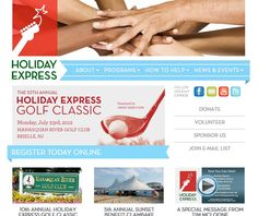 Holiday Express' new site went live. What great people for a great cause. http://www.holidayexpress.org/  The Holiday Express mission is to deliver music, food, gifts, financial support and friendship to those with the greatest need for the gift of human kindness during the holiday season and throughout the year.