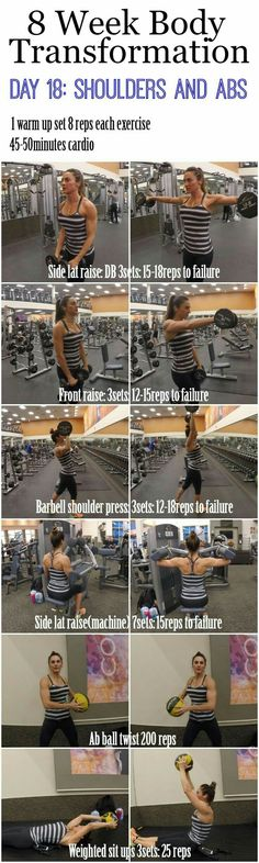 Day 18: SHOULDERS & ABS