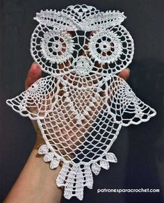 I created step-by-step tutorial for this crochet owl. It comprises of 12 parts. Here is the listing for all of them. Crochet Owl Tutorial Part 2 Free Crochet Doily Patterns, Crochet Art, Crochet Gifts, Filet Crochet, Crochet Motif, Irish Crochet, Crochet Flowers, Crochet Stitches, Crochet Owls