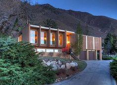 1960s midcentury modern property in Salt Lake City, Utah, USA