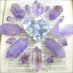 "#Crystals via - Lara Jamison (@callistojewelry) on Instagram: ""Wishing everyone sweet dreams ❤️"""
