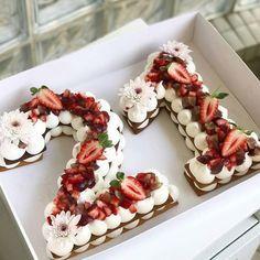 Number Birthday Cakes, 21st Birthday Cakes, Number Cakes, Birthday Ideas, Fancy Cake, 21st Cake, Cake Trends, Savoury Cake, Cake Mold