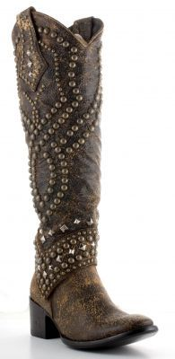 Ladies Belinda cowboy boots by Old Gringo (via @Allens Boots)