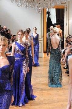 Zuhair Murad Fall 2013 Couture Collection Slideshow on Style.com #Pixieshadow