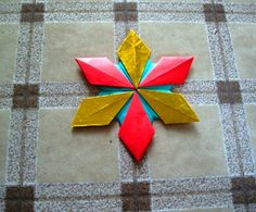 Origami Maniacs: Origami Star Accessory 1 By Tomoko Fuse