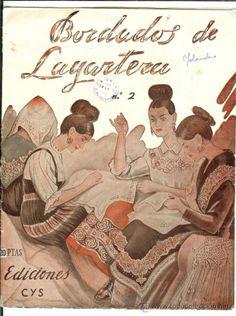BORDADOS DE LAGARTERA Nº 2, CON PLANTILLAS