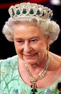 H.M. Queen Elizabeth II of Great Britain---THE TIARA