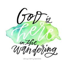 One of my most precious scriptures is psalm 56:8, which talks about God making space for our tears and keeping track of our wandering. Is your heart wandering even when your feet are walking the circuits of your everyday?  You may feel far, but He is near-- he is here.  #preachingtomyownheart