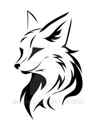 Image result for tribal tattoo fox