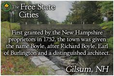 There's more about Gilsum, New Hampshire at our site! http://freestatenh.org/encyclopedia/cities/gilsum