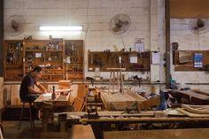 Formado em Desenho Industriale Arquitetura,o designer carioca Fernando Mendes tem cabeça arejada.