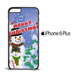 Christmas Snowman Gift D0210 iPhone 6 Plus   6S Plus Case