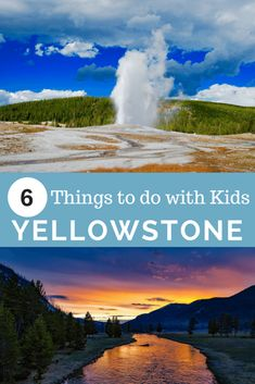 Yellowstone National Park is absolutely incredible and a fun family vacation. Here are 6 things to do in Yellowstone with kids. Visit Yellowstone, Yellowstone Vacation, Yellowstone Camping, Yellowstone National Park, Best Family Vacations, Family Road Trips, Vacation Places, Family Travel, Vacation Ideas