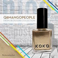"Fun with gold Sparkle with the all new ""Q8MangoPeople"" from Koko nails' Bloggers Collection 1st Edition by @q8mangopeople  #kokonailpolish  #polish #dubai #mydubai #dxbconnect #saudi_trends Trends of SAUDI #UAE #dubainails #dubaiexpo2020ambassadors #Emirates #instagram #aboutdubai #instafashion #instagood #instanail #koko #kokonail Dubai Expo 2020 #dubaiexpo2020 Dubai Expo Dubai 2020 , U.A.E @hello.aseya @mysmallobsession #kuwait"