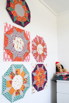 Supersize Castles Quilt Block Tutorial - badskirt