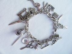Hey, I found this really awesome Etsy listing at https://www.etsy.com/listing/212585020/sewing-themed-charm-bracelet-metal-charm