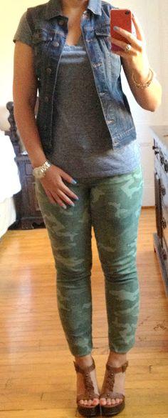 Camo pants | Pretty Little Things