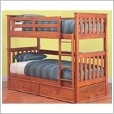 Forte Bunk Bed in Timber Teak By Designs