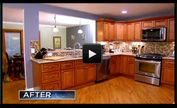 Rescue My Renovation - Season 1 - Episode 2: Mocha Shaker Series Cabinets   Ready to assemble cabinets   RTACabinetStore.com