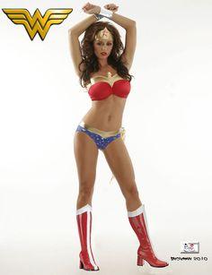 Wonder Woman Lingerie | Halloween Inspiration: Wonder Woman