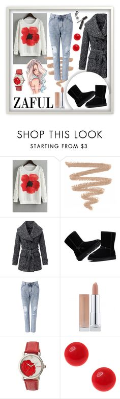 """http://www.zaful.com/?lkid=6880"" by amra-sarajlic ❤ liked on Polyvore featuring Mode, Bertha und vintage"