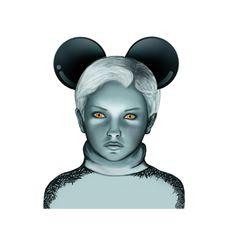 © Leo Peralta #Apple #illustration #art #arte #Mickey #surreal