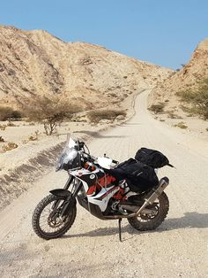 The bike that started it all. The mighty KTM 690 with rally kit fitted. Check out for more details Ktm Adventure, Adventure Treks, Motorcycle Adventure, Ktm 690 Enduro, Dual Sport, Cars And Motorcycles, Rally, The Incredibles, Bike