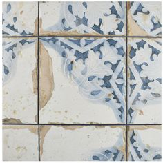 You'll love the Artisanal 13 x 13 Ceramic Field Tile in Azul at Wayfair - Great Deals on all Kitchen & Dining products with Free Shipping on most stuff, even the big stuff.