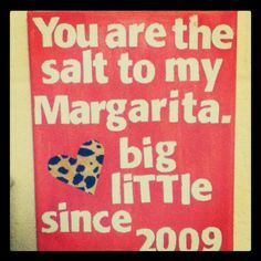 because I love my Big.