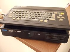 SEGA SC-3000 computer with the SF-7000 expansion unit.