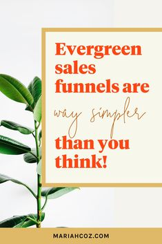 Building an evergreen sales funnel doesn't have to be complicated or scary as an online entrepreneur or course creator. Listen to the podcast to learn how to put your core offering front-row-center in your sales funnel, plus other key points. #digitalmarketing #entrepreneurship #mariahcoz