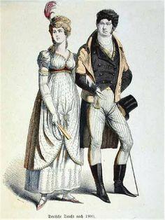 CABIDÊ: História da Indumentária - Romantismo