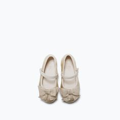 BALLERINAS WITH BOW-Shoes-Baby girl | 3 months - 3 years-KIDS | ZARA United States