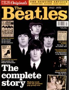 Beatles Magazine Cover The Beatles 1962-1970, UK