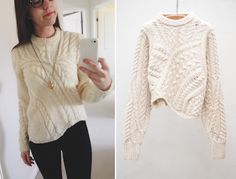 Cute sweater to wear once it gets chilly. Would have to get it custom made though; original one isn't available.