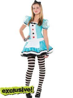 teen girls clever alice costume party citylove it halloween