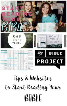 Tips and Websites to help you start Reading your Bible! Coffee and Bible Time Blog