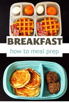 Meal prepping on the weekend will save your time, money, and sanity! These meal prep breakfasts are inexpensive, healthy, and delicious.